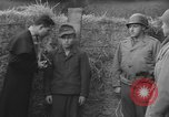 Image of German spy executed by U.S. firing squad Toul France, 1944, second 16 stock footage video 65675065399