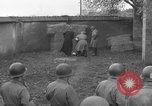 Image of German spy executed by U.S. firing squad Toul France, 1944, second 35 stock footage video 65675065399