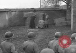 Image of German spy executed by U.S. firing squad Toul France, 1944, second 36 stock footage video 65675065399