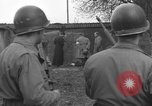 Image of German spy executed by U.S. firing squad Toul France, 1944, second 38 stock footage video 65675065399