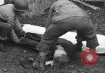 Image of German spy executed by U.S. firing squad Toul France, 1944, second 46 stock footage video 65675065399