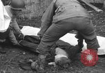Image of German spy executed by U.S. firing squad Toul France, 1944, second 47 stock footage video 65675065399