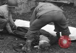 Image of German spy executed by U.S. firing squad Toul France, 1944, second 48 stock footage video 65675065399