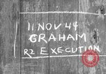 Image of Graham Execution Toul France, 1944, second 1 stock footage video 65675065400