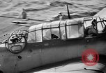Image of Gunner buried at sea in TBF avenger aircraft Manila Philippines, 1944, second 6 stock footage video 65675070253