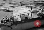 Image of Gunner buried at sea in TBF avenger aircraft Manila Philippines, 1944, second 7 stock footage video 65675070253