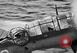 Image of Gunner buried at sea in TBF avenger aircraft Manila Philippines, 1944, second 8 stock footage video 65675070253
