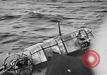 Image of Gunner buried at sea in TBF avenger aircraft Manila Philippines, 1944, second 10 stock footage video 65675070253