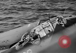 Image of Gunner buried at sea in TBF avenger aircraft Manila Philippines, 1944, second 12 stock footage video 65675070253