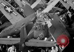 Image of Gunner buried at sea in TBF avenger aircraft Manila Philippines, 1944, second 20 stock footage video 65675070253