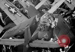 Image of Gunner buried at sea in TBF avenger aircraft Manila Philippines, 1944, second 26 stock footage video 65675070253