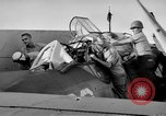Image of Gunner buried at sea in TBF avenger aircraft Manila Philippines, 1944, second 32 stock footage video 65675070253