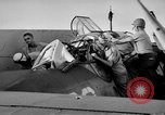 Image of Gunner buried at sea in TBF avenger aircraft Manila Philippines, 1944, second 33 stock footage video 65675070253
