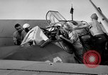 Image of Gunner buried at sea in TBF avenger aircraft Manila Philippines, 1944, second 35 stock footage video 65675070253