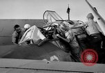 Image of Gunner buried at sea in TBF avenger aircraft Manila Philippines, 1944, second 36 stock footage video 65675070253