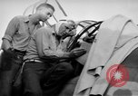 Image of Gunner buried at sea in TBF avenger aircraft Manila Philippines, 1944, second 37 stock footage video 65675070253