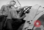 Image of Gunner buried at sea in TBF avenger aircraft Manila Philippines, 1944, second 39 stock footage video 65675070253