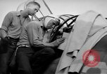Image of Gunner buried at sea in TBF avenger aircraft Manila Philippines, 1944, second 40 stock footage video 65675070253
