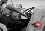 Image of Gunner buried at sea in TBF avenger aircraft Manila Philippines, 1944, second 43 stock footage video 65675070253