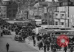 Image of British seaside town in World War 2 Lancashire England United Kingdom, 1944, second 33 stock footage video 65675070893