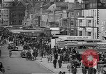 Image of British seaside town in World War 2 Lancashire England United Kingdom, 1944, second 40 stock footage video 65675070893