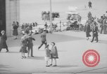 Image of British seaside town in World War 2 Lancashire England United Kingdom, 1944, second 51 stock footage video 65675070893