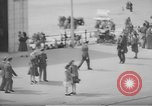 Image of British seaside town in World War 2 Lancashire England United Kingdom, 1944, second 52 stock footage video 65675070893