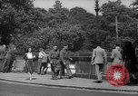 Image of London crowd London England United Kingdom, 1943, second 42 stock footage video 65675070899