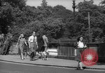 Image of London crowd London England United Kingdom, 1943, second 51 stock footage video 65675070899