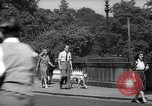 Image of London crowd London England United Kingdom, 1943, second 52 stock footage video 65675070899