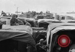 Image of D-Day invasion force off French coast English Channel, 1944, second 13 stock footage video 65675070900