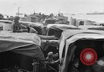 Image of D-Day invasion force off French coast English Channel, 1944, second 15 stock footage video 65675070900