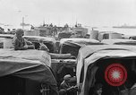 Image of D-Day invasion force off French coast English Channel, 1944, second 16 stock footage video 65675070900