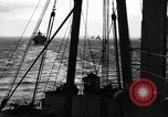 Image of D-Day invasion force off French coast English Channel, 1944, second 26 stock footage video 65675070900