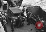 Image of D-Day invasion force off French coast English Channel, 1944, second 39 stock footage video 65675070900