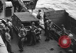 Image of D-Day invasion force off French coast English Channel, 1944, second 40 stock footage video 65675070900