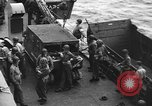 Image of D-Day invasion force off French coast English Channel, 1944, second 41 stock footage video 65675070900