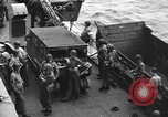Image of D-Day invasion force off French coast English Channel, 1944, second 42 stock footage video 65675070900