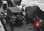 Image of D-Day invasion force off French coast English Channel, 1944, second 43 stock footage video 65675070900