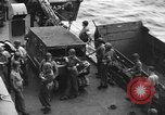 Image of D-Day invasion force off French coast English Channel, 1944, second 44 stock footage video 65675070900