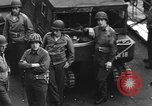 Image of D-Day invasion force off French coast English Channel, 1944, second 45 stock footage video 65675070900