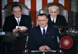 Image of President Johnson address to Congress on Voting Rights Washington DC USA, 1965, second 2 stock footage video 65675070904
