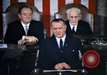 Image of President Johnson address to Congress on Voting Rights Washington DC USA, 1965, second 3 stock footage video 65675070904