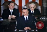 Image of President Johnson address to Congress on Voting Rights Washington DC USA, 1965, second 4 stock footage video 65675070904