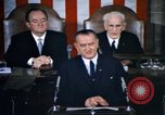 Image of President Johnson address to Congress on Voting Rights Washington DC USA, 1965, second 5 stock footage video 65675070904
