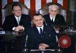 Image of President Johnson address to Congress on Voting Rights Washington DC USA, 1965, second 8 stock footage video 65675070904