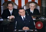 Image of President Johnson address to Congress on Voting Rights Washington DC USA, 1965, second 9 stock footage video 65675070904