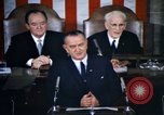 Image of President Johnson address to Congress on Voting Rights Washington DC USA, 1965, second 11 stock footage video 65675070904