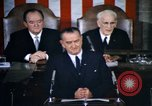 Image of President Johnson address to Congress on Voting Rights Washington DC USA, 1965, second 12 stock footage video 65675070904
