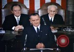 Image of President Johnson address to Congress on Voting Rights Washington DC USA, 1965, second 13 stock footage video 65675070904